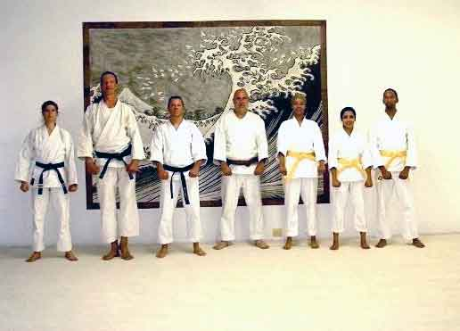 "ALT =[""Dr. Jolie Bookspan: 4th degree black belt instructor of Shotokan Karate""]"