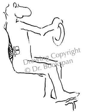 Osteokhondroz de lépine dorsale avec la défaite du service cervical et de poitrine
