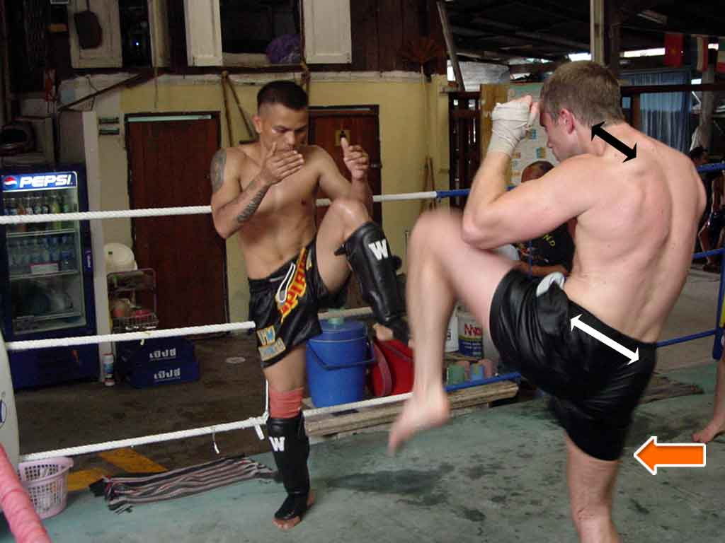 Muay Thai Defensive Technique
