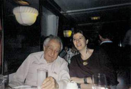 "ALT =[""Dr. Jolie Bookspan and Dr. Edward Teller: Dr. Bookspan was invited to dinner by Dr. Edward Teller""]"